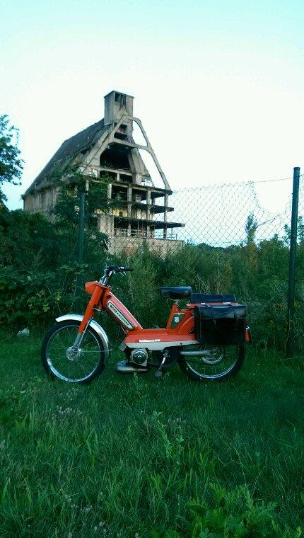 Ballade Leipzig-Lindenthal, avec l'orange