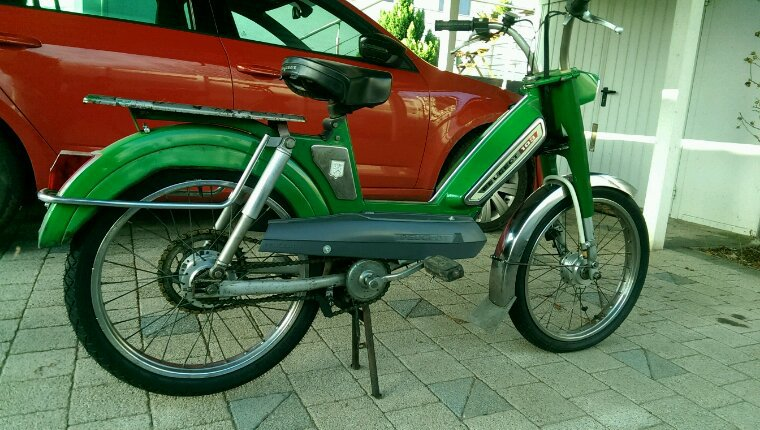 La verte - avec moteur