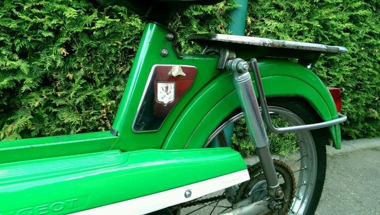 Des carters pour la 103 verte