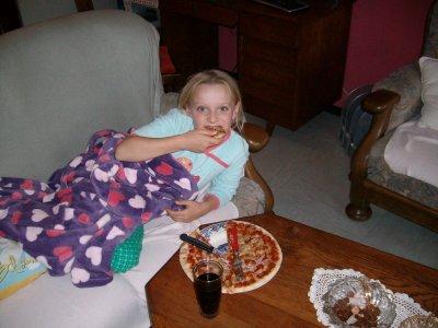 soirée pizza dvd chez papa