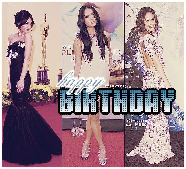 . En ce 14 Decembre 2011, Vanessa Hudgens fête enfin ses 23 ans !..QU'EST-CE QU'ON DIT ?.