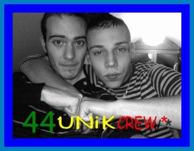 44unik maintenant sur facebook