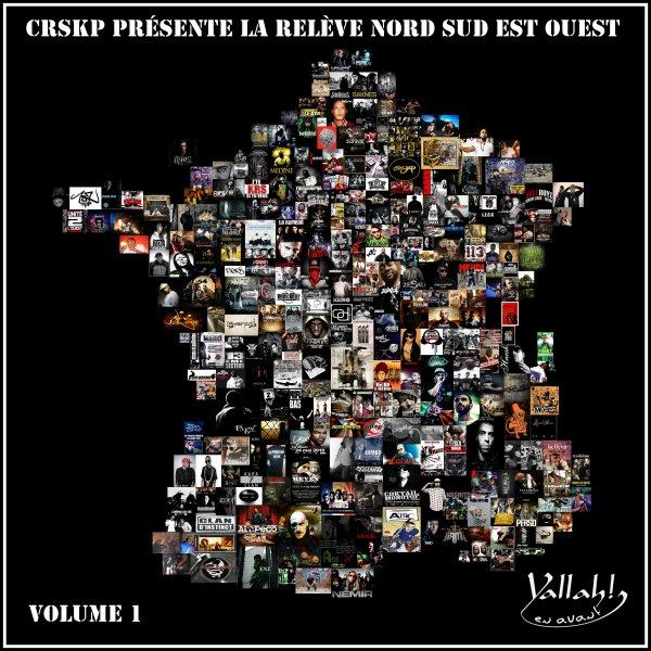 """CRSKP présente la Relève / NEW """"Intro La Relève Nord Sud Est Ouest"""" by Dj S-Crime & CRSKP (2011) (2011)"""