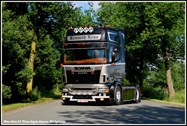 Scania R Kenneth Leus