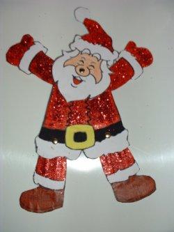 """Le pantin """"Père Noël"""""""