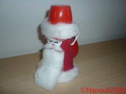 Père Noël à la hotte