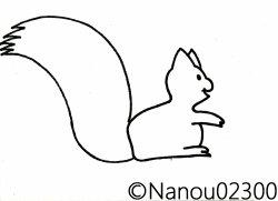 L'écureuil d'automne