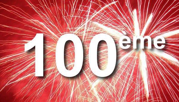 100e visite !!!