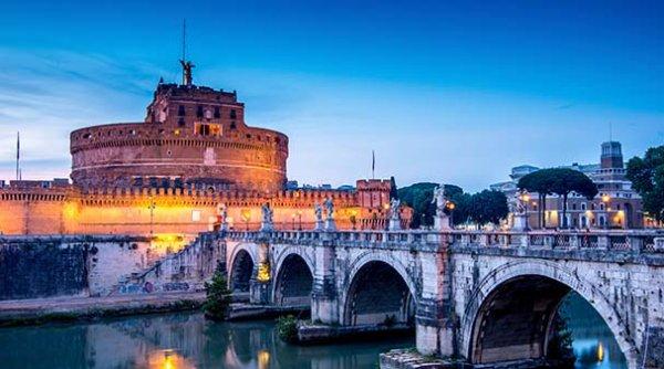 Le Castel Sant'Angelo à Rome, en Italie