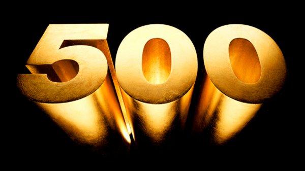 500e visite !!!