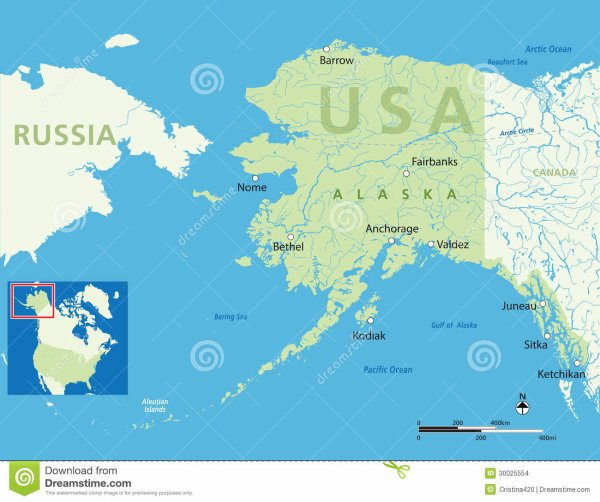 L'Etat de l'Alaska devient américain