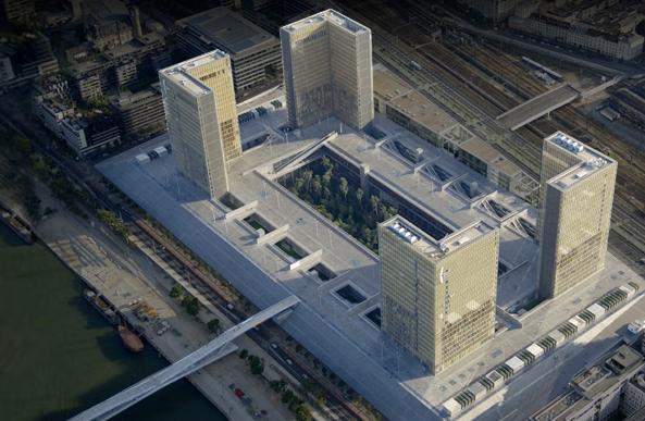 Inauguration de la Bibliothèque Nationale François Mitterrand