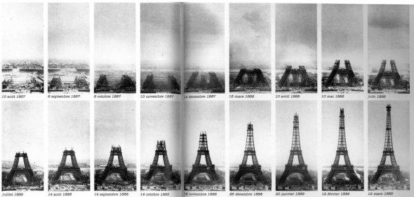 Inauguration de la Tour Eiffel