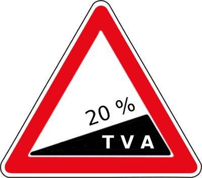 Entrée en vigueur de la TVA à 19,6 %