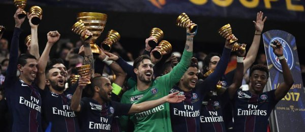 Le Paris-Saint-Germain remporte la Coupe de la Ligue 2017