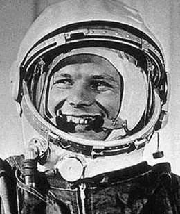 Le premier homme dans l'espace