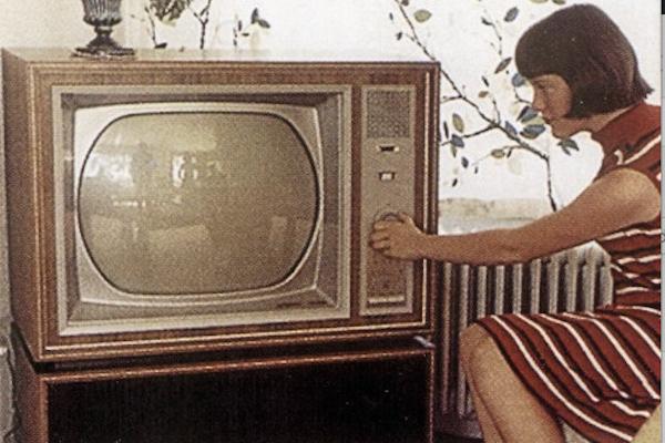 Première retransmission d'une image de télévision en France