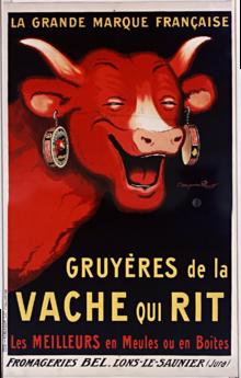 """Naissance de """"La Vache qui rit"""""""