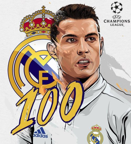 100e but en Ligue des champions pour CR7