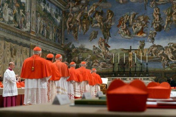 L'élection du Pape Benoît XVI