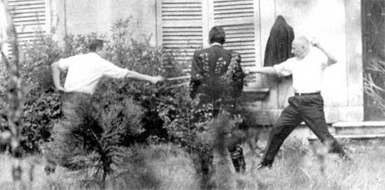 Dernier duel au fleuret en France