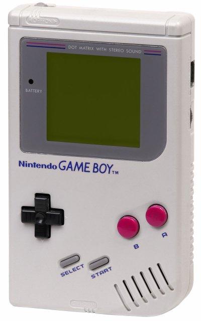 Sortie de la 1ère génération de Game Boy par Nintendo