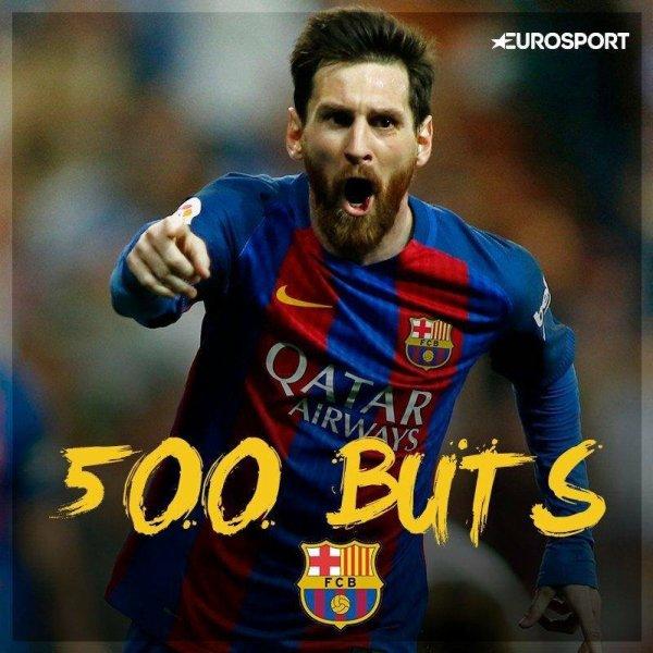 500e but de Messi sous les couleurs du Barça