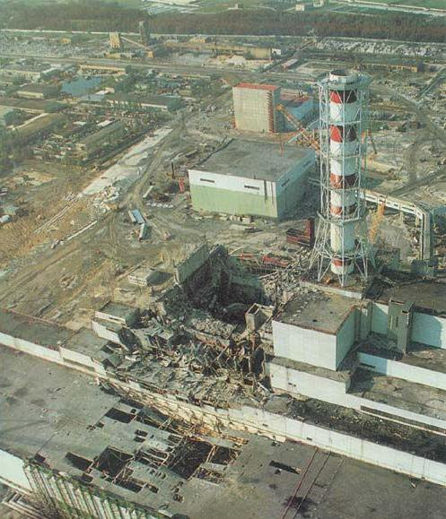 Catastrophe nucléaire de Tchernobyl
