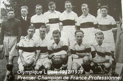 L'Olympique Lillois, premier club champion de France