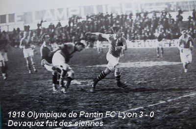 Première finale de la Coupe de France de football