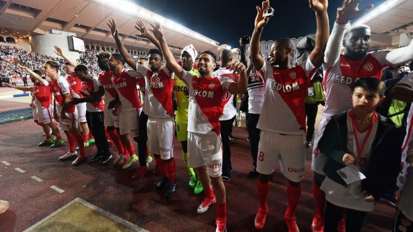Monaco remporte la Ligue 1 2017