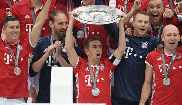 Le Bayern remporte la Bundesliga 2017