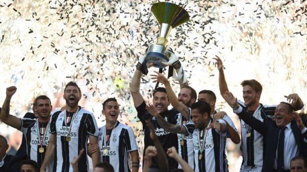 La Juve remporte la Serie A 2017