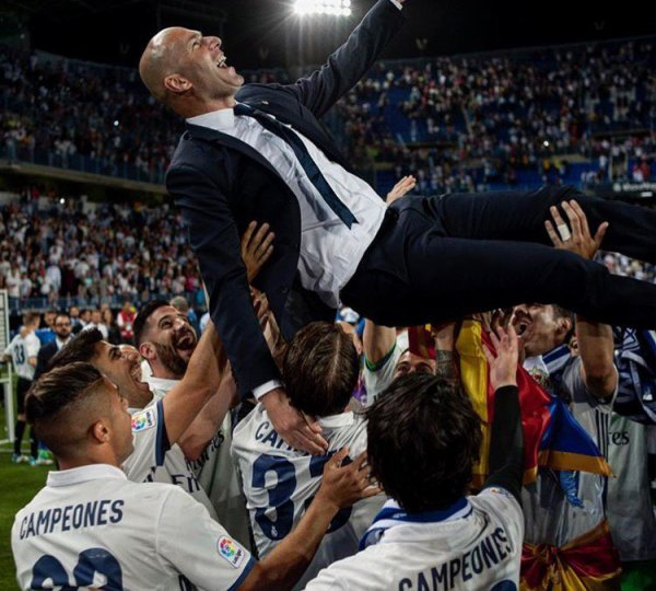 Le Real remporte la Liga 2017