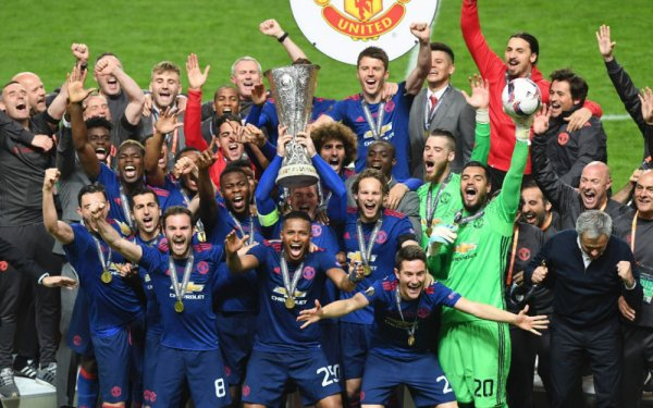 Manchester United remporte l'Europa League 2017