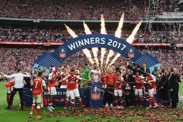 Arsenal remporte la Coupe d'Angleterre 2017