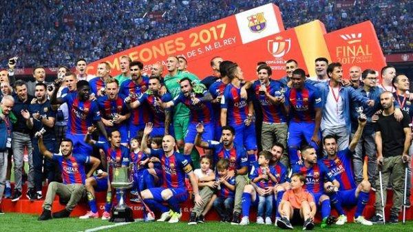 Le Barça remporte la Coupe d'Espagne 2017