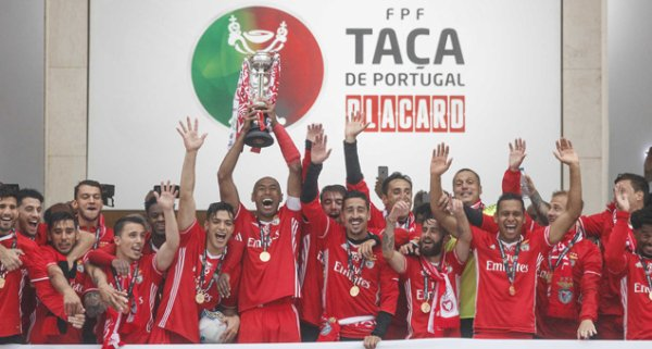 Benfica remporte la Coupe du Portugal 2017