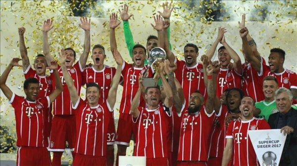 Le Bayern remporte la Supercoupe d'Allemagne 2017