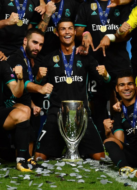 Le Real remporte la Supercoupe d'Europe 2017