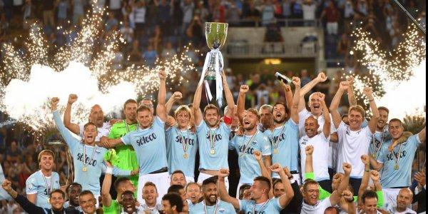 La Lazio remporte la Supercoupe d'Italie 2017