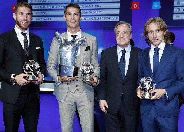 Et le Meilleur joueur UEFA de l'année 2016/2017 est ...