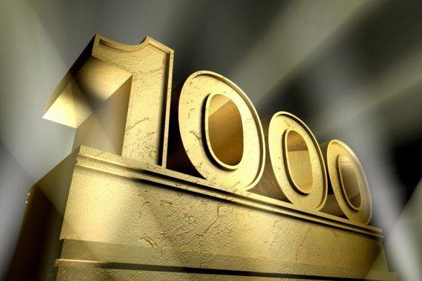 1000e visite !!!