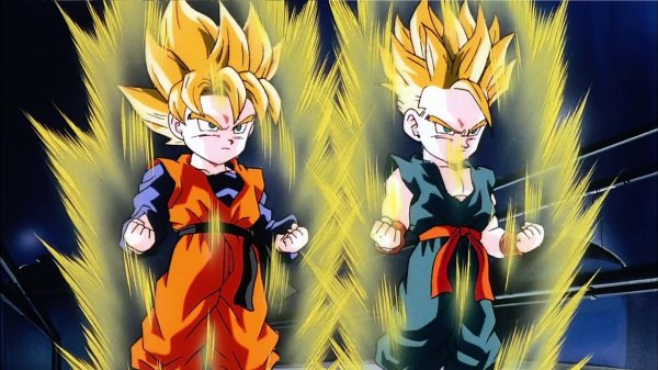 La Battle du Jour : Goten SSJ vs Trunks SSJ