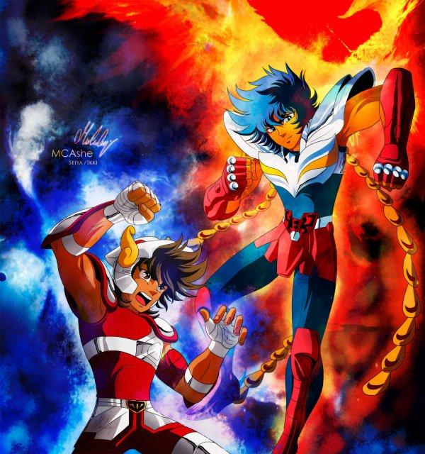 La Battle du Jour : Seiya de Pégase vs Ikki du Phoenix