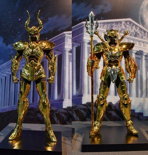 Exposition Saint Seiya : les 12 armures en vrai ...