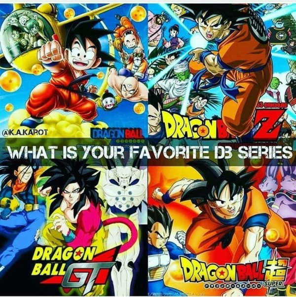 La Battle du Jour : Les différents Dragon Ball ...
