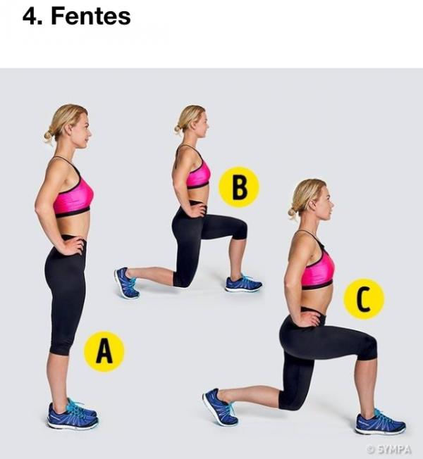 Petite routine sportive de 4 minutes par jour