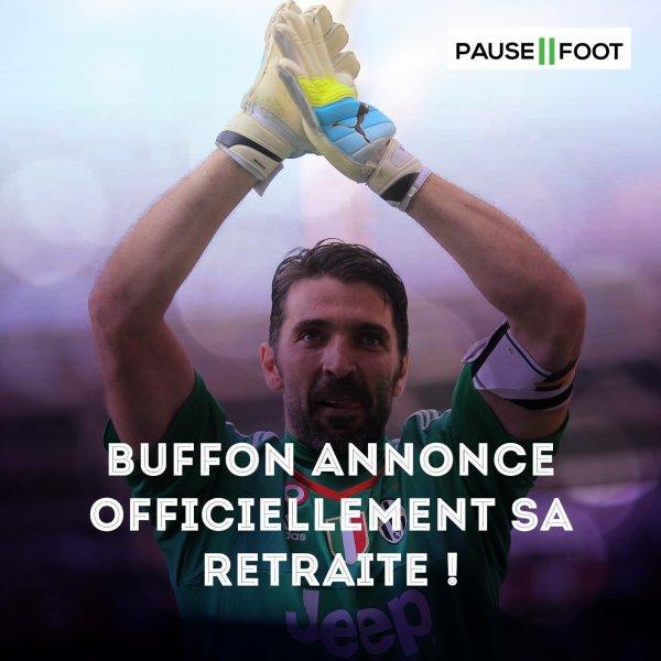 Buffon prend sa retraite ...