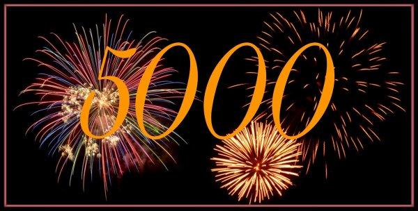 5000e visite !!!
